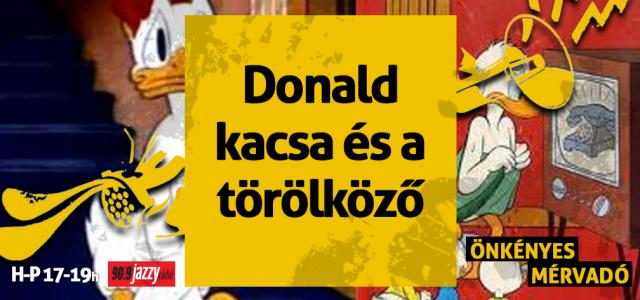 Donald kacsa és a törölköző