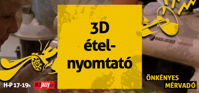 3D ételnyomtató
