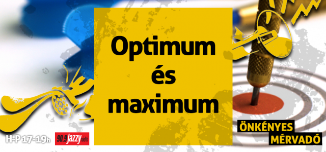 Optimum vs. maximum