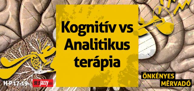 Kognitív vs. Analitikus terápia