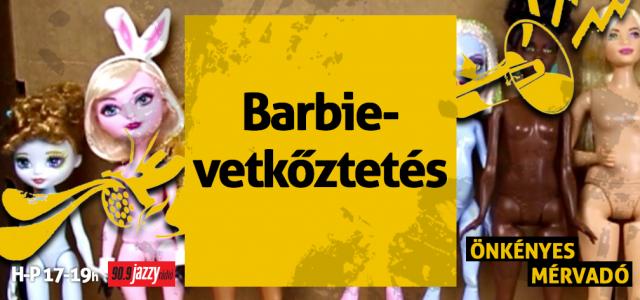 Barbievetkőztetés